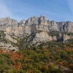 Vue sur le haut des Gorges du Verdon