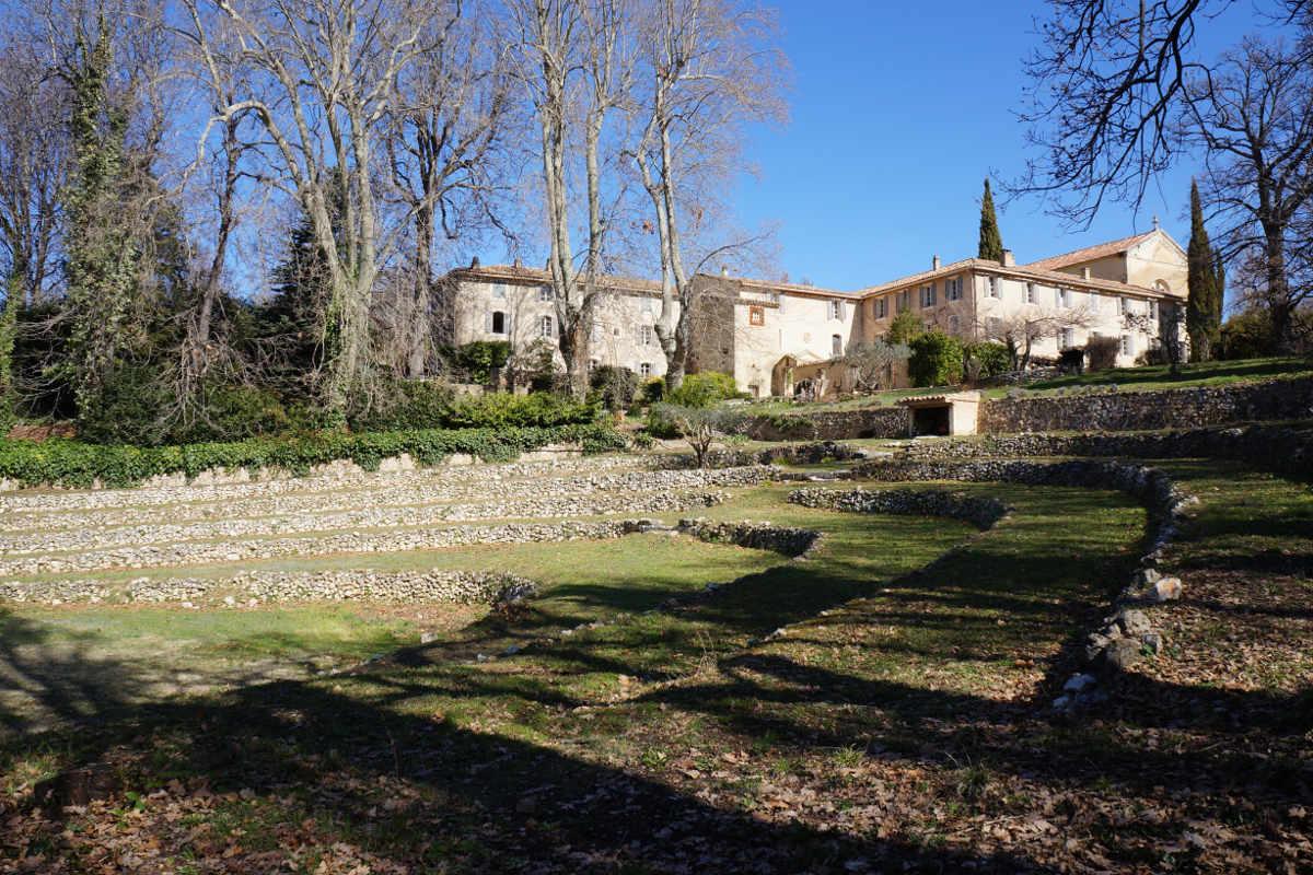 restanques jardin monastere de segries jeune et randonnee - Jeûne, Randonnée et Yoga