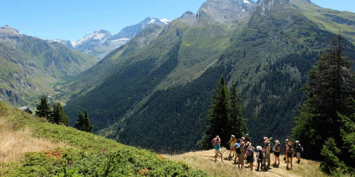 halte vue tour du mont blanc une semaine de jeune diaporama - Tour du Mont Blanc en jeûnant