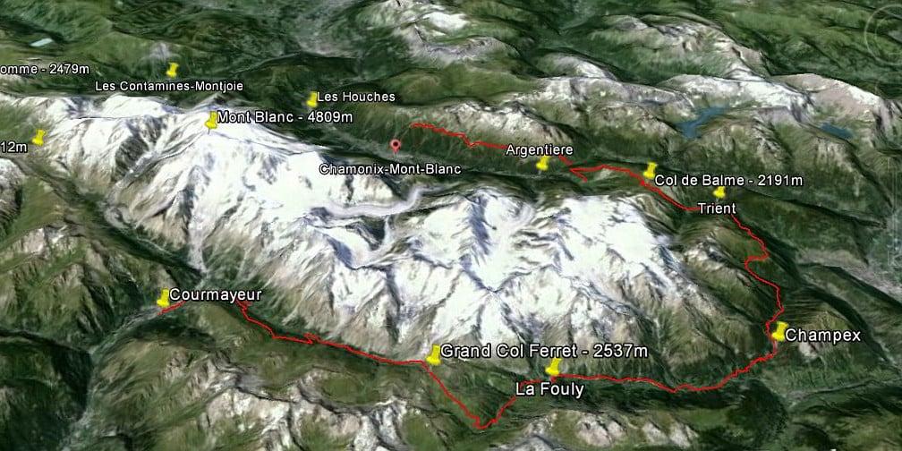 itineraire tour du mont blanc une semaine de jeune diaporama - Tour du Mont Blanc en jeûnant