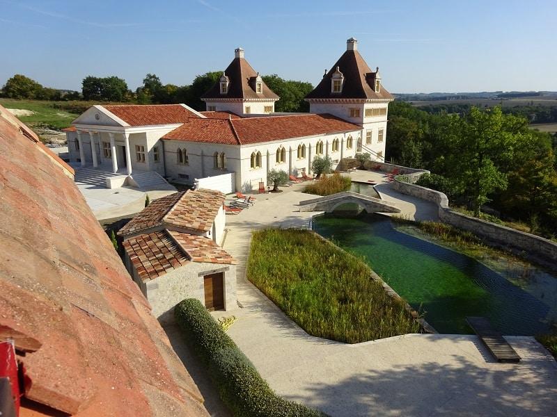 jeune randonnee gers chateau calme chambre privative - Accueil