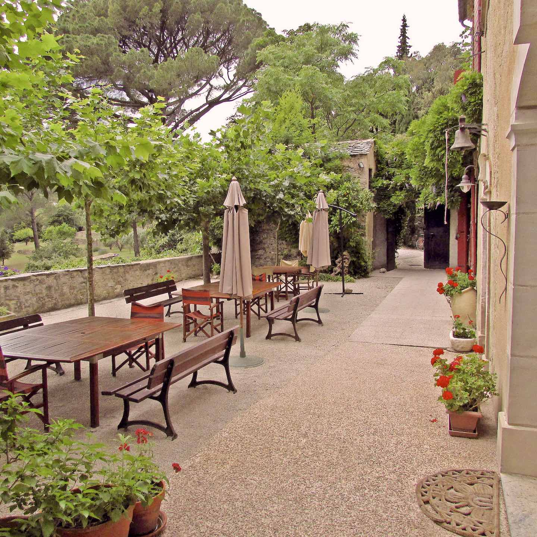 terrasse2 - Domaine de Miravel