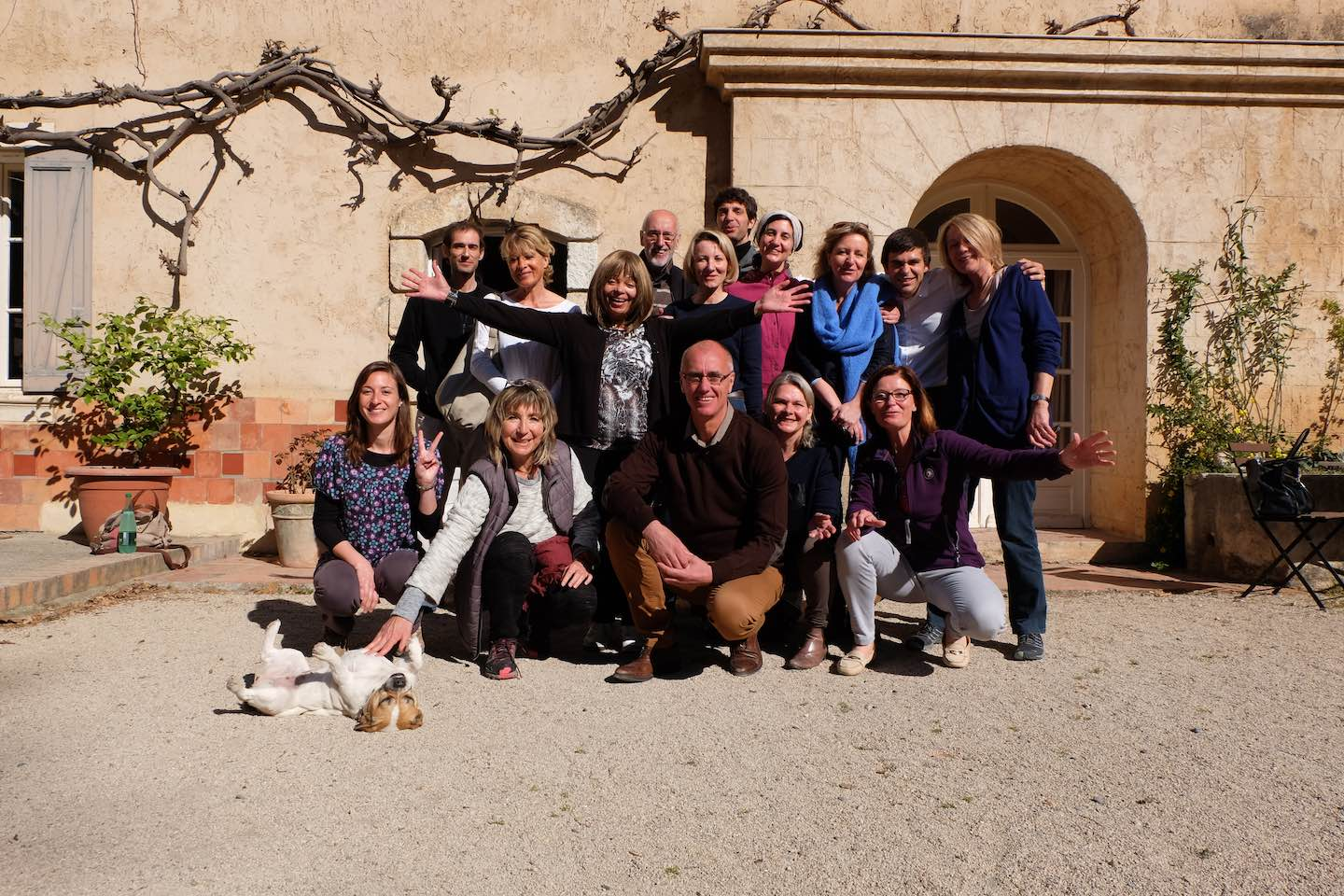 photo groupe monastere cure detox - Notre philosophie ancienne version