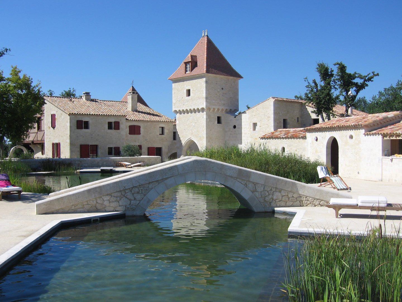 piscine naturelle hameau guirauton jeune confort luxe - Château de Guirauton - nouvelle version