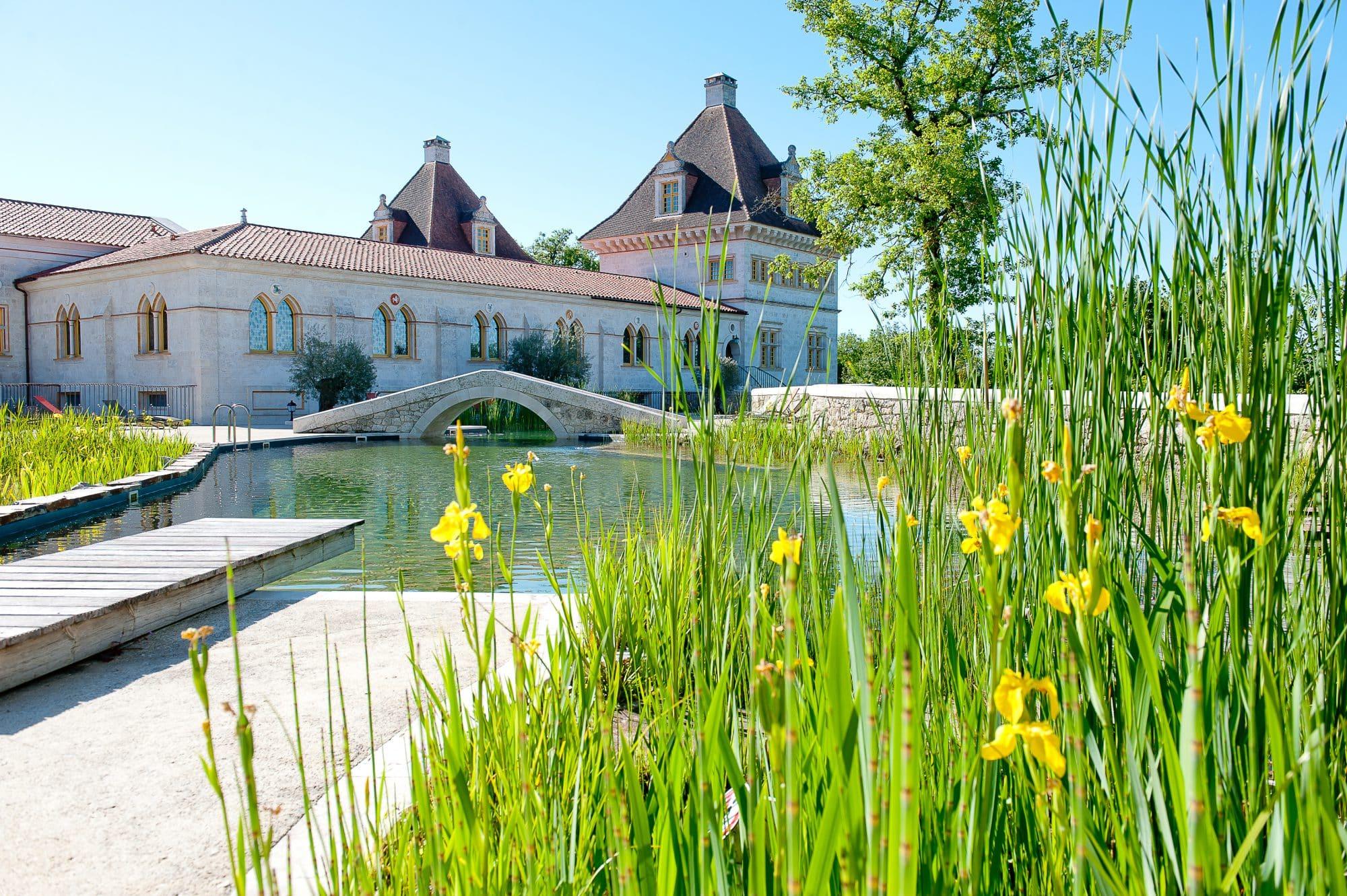 piscine naturelle detox jeune confort gers - Domaine d'Orion