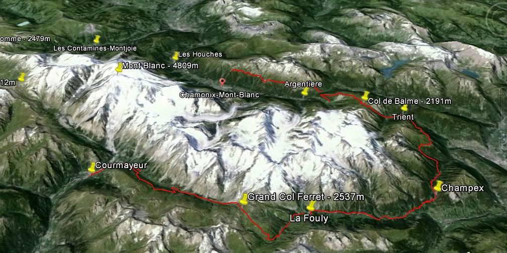 itineraire tour du mont blanc une semaine de jeune diaporama - Accueil