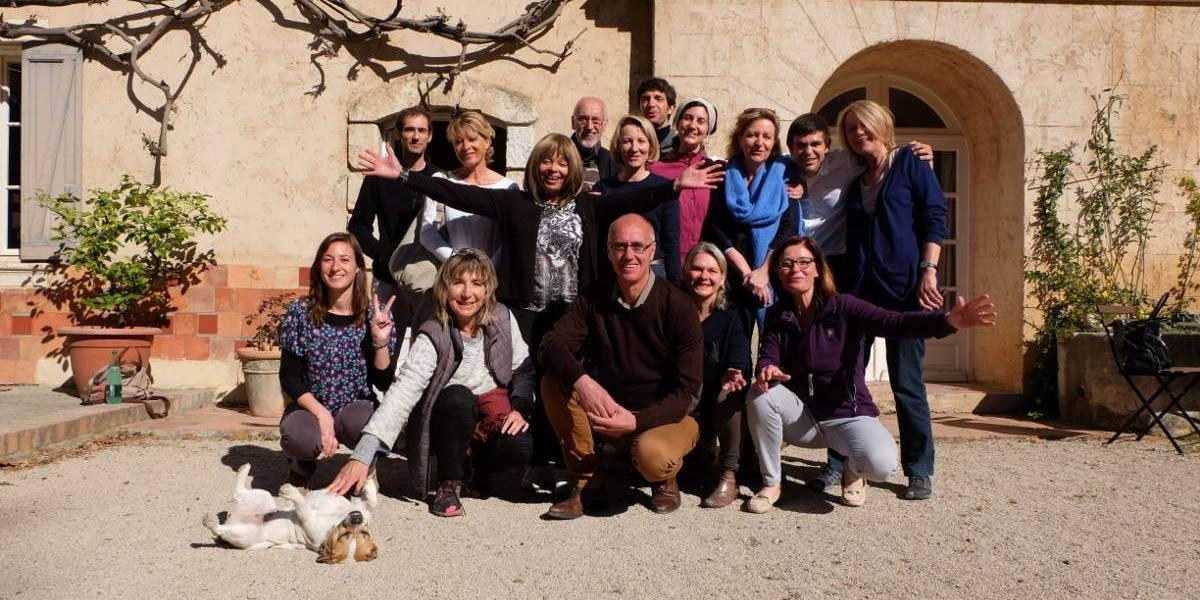 photo de groupe monastere de segries jeuner et randonner diaporama - Accueil